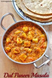 Dal Paneer Masala recipe – Easy Paneer Recipes