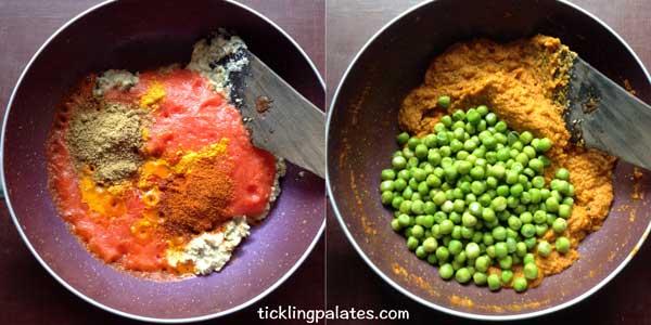 peas masala recipe step4