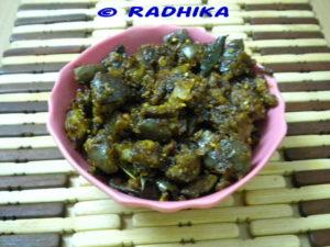 Brinjal Peanut Curry