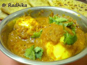 Egg Masala Gravy