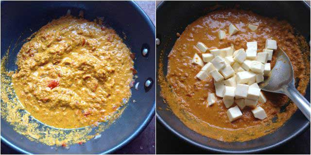 chettinad paneer pirattal step-3
