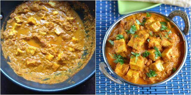 chettinad paneer pirattal step-4