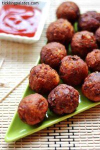 Paneer Potato Pops Recipe – Aloo Paneer Balls