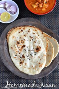 Homemade Naan Recipe without Yeast on Stove Top