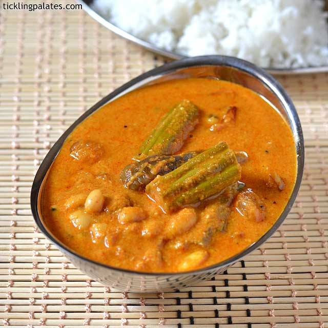 Chettinad kara kulambu recipe