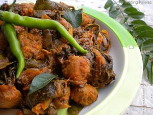 Gongurra Soya Curry   Soya Chunk Recipes