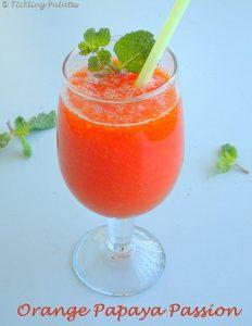 Orange Papaya Passion