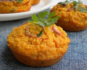 Spicy Couscous Muffins Recipe