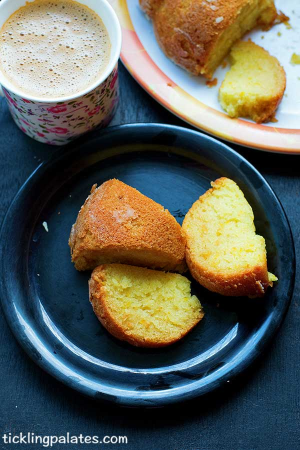 vegan orange cake