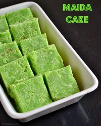 Maida Cake / Maida Burfi