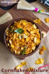 Cornflakes Mixture Recipe – Corn Flakes Chivda Recipe