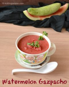 Watermelon Gazpacho Recipe | Cold Summer Soup Recipes
