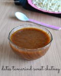 Date Tamarind Chutney Recipe | Sweet Chutney for Chaat Recipes