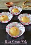 Besan Coconut Peda Recipe | Easy Diwali Sweet Recipes