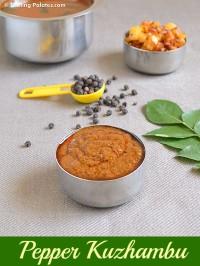 Milagu Kuzhambu – Easy Pepper Kulambu Recipe