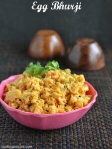 Egg Bhurji Recipe – Muttai Poriyal