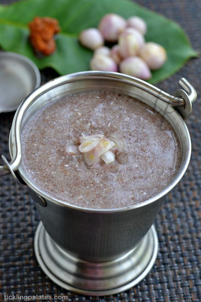 Ragi Koozh Recipe