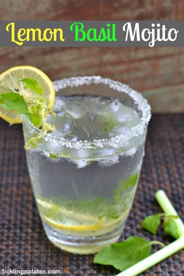 Lemon Basil Moctail Recipe