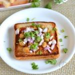 Bread Channa Recipe   Healthy Snacks Recipes