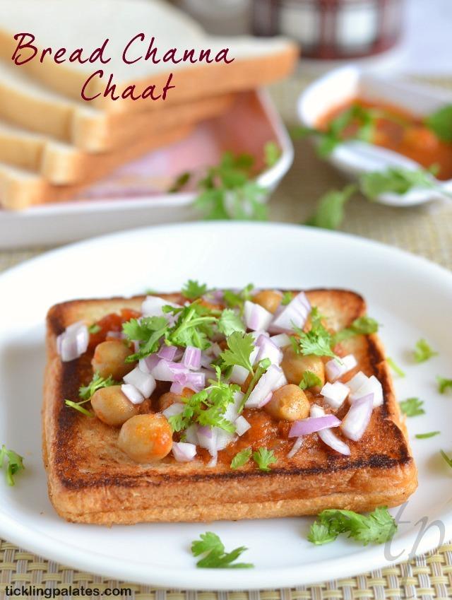Bread Channa Recipe