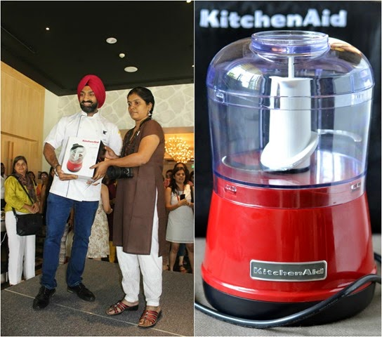 KitchenAid Chopper winner