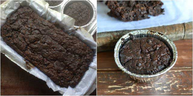 Eggless Double Chocolate Zucchini Bread step-6