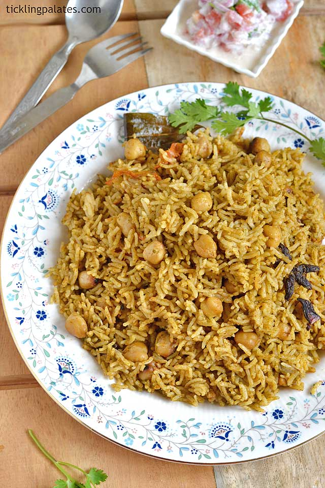 Channa Biryani Recipe