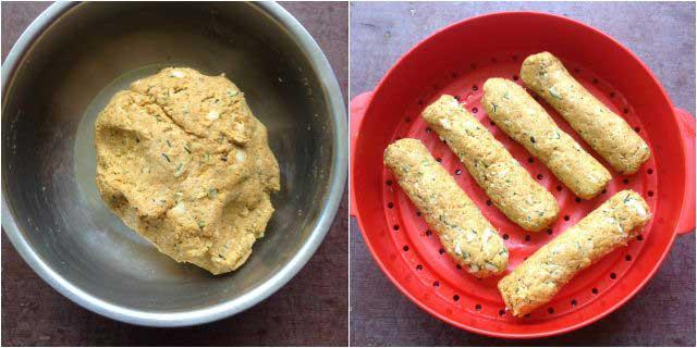zucchini muthia step-3