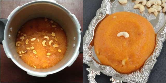 rava kesari recipe04