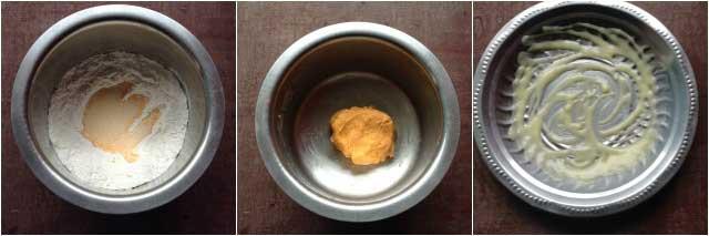 Badam Puri recipe02