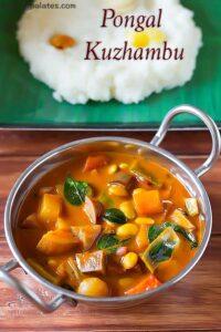 Pongal Kuzhambu Recipe – Chettinad Pongal Kuzhambu