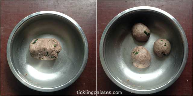 Ragi Adai Recipe step3