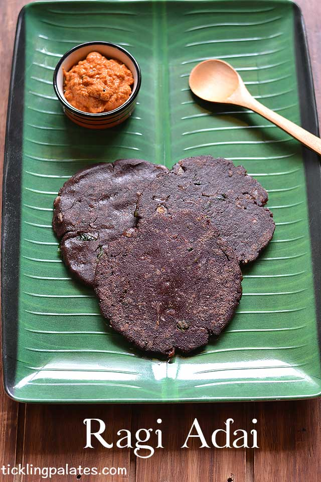 Spicy Ragi Adai Recipe