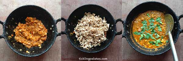 south indian mushroom curry recipe-3