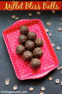 Millet Bliss Balls Recipe