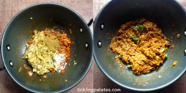 baingan bharta recipe step4