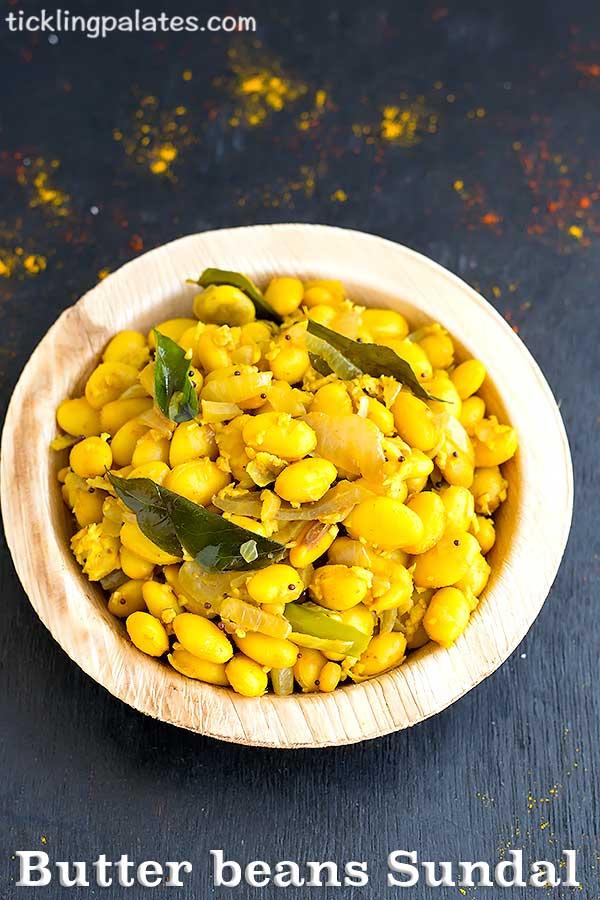 butter beans sundal recipe