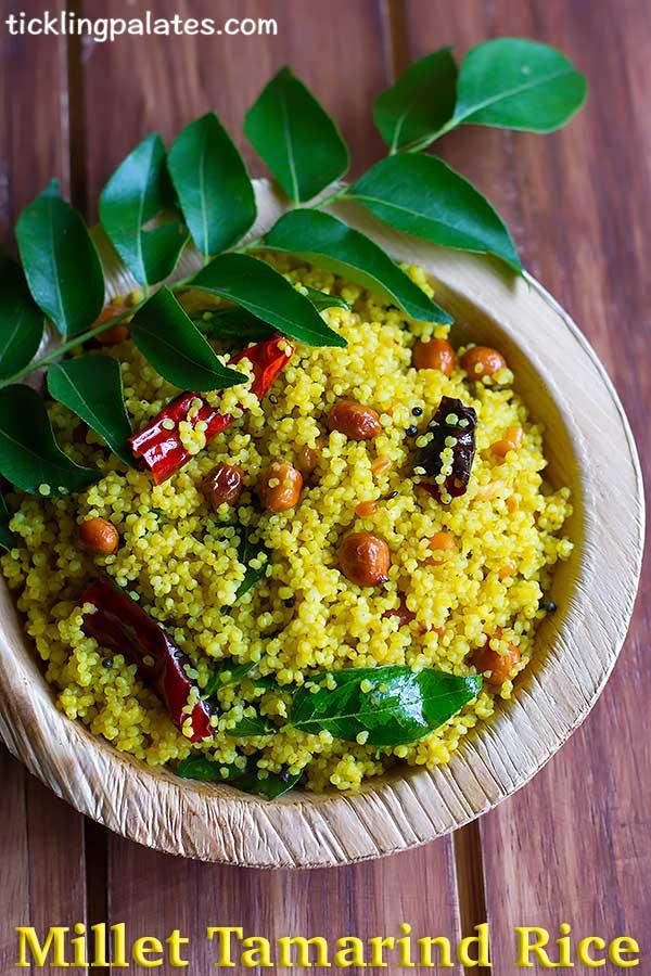 millet tamarind rice
