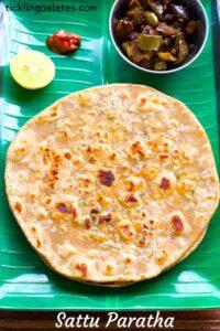Organic Sattu Paratha Recipe – Sattu Ka Paratha