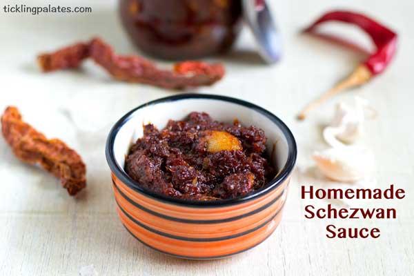 homemade schezwan sauce recipe