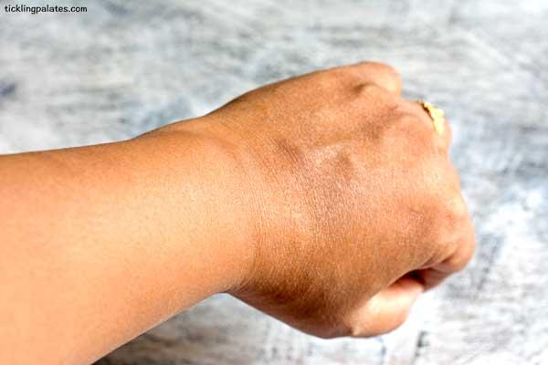 dry skin healed