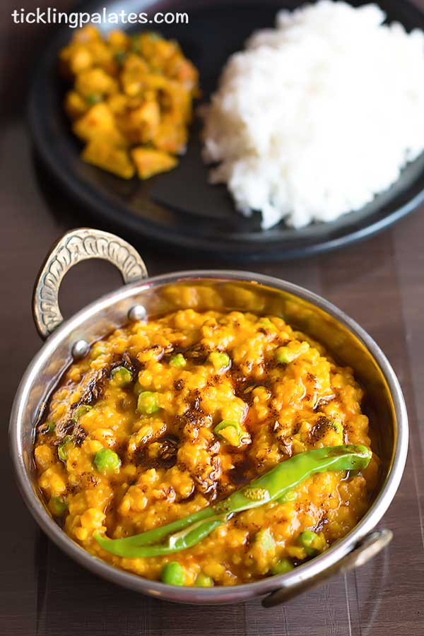 bengali style moong dal recipe