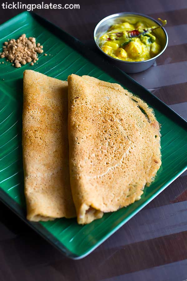 how to make brown rice adai