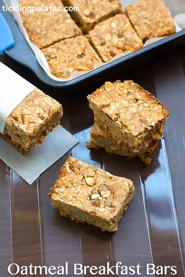 oatmeal breakfast bars recipe