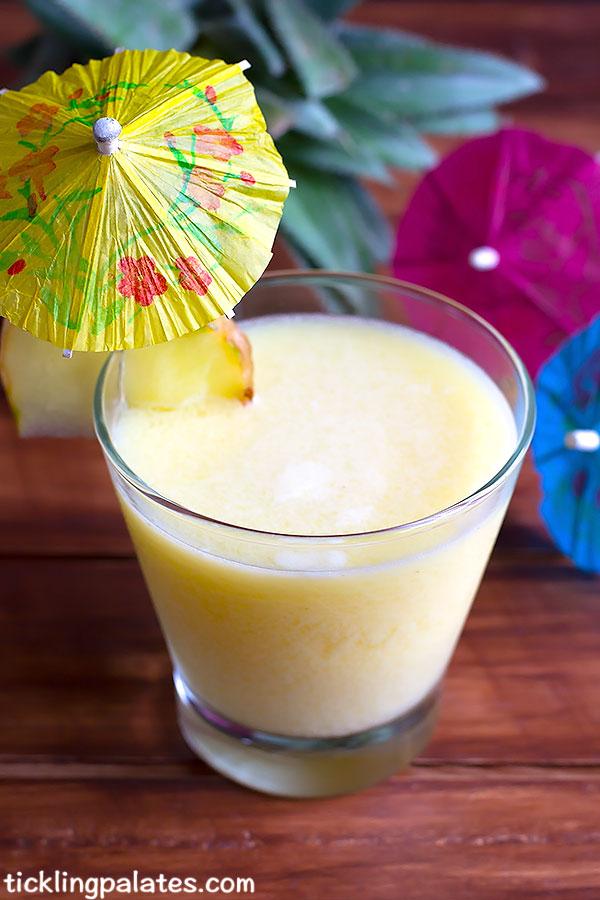 pineapple pina colada recipe