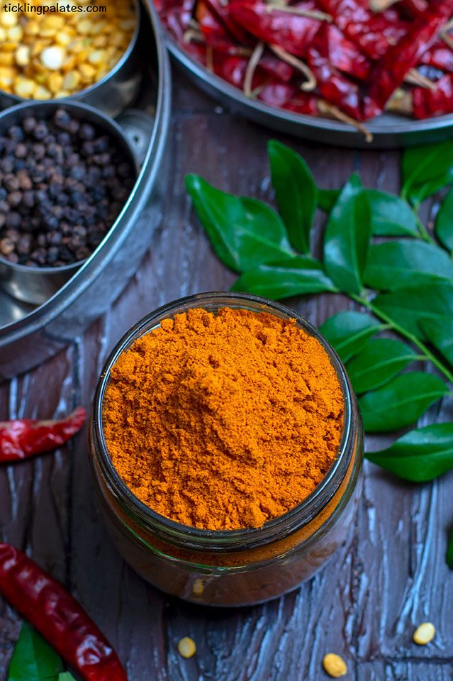 the basic sambar powder