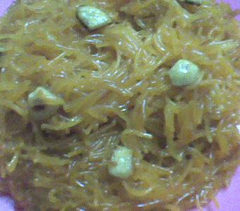 Semiya / Vermicelli  Kesari in Microwave