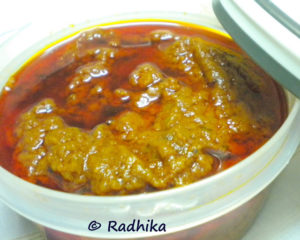 Mango Thokku Pickle | Step by Step Recipe