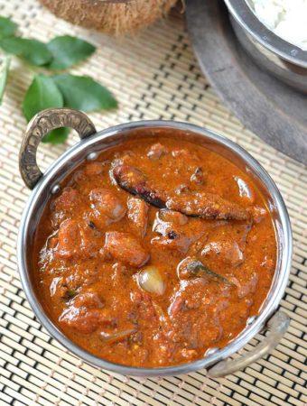 Chettinad Kalyana Vathal Kulambu Recipe