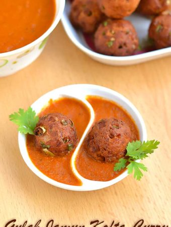 Gulab Jamun Spicy Curry – Gulab Jamun Kofta Curry